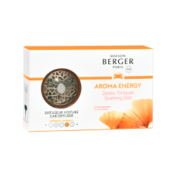 DIFFUSEUR VOITURE AROMA ENERGY
